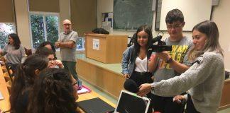 Alumnado de PNO no master do profesorado da Universidade de Vigo